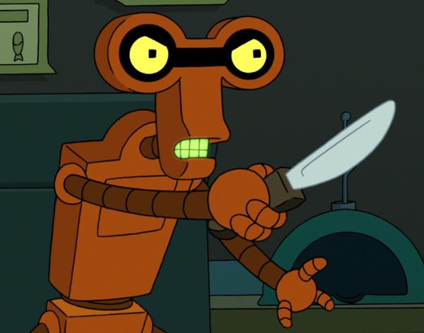 Робота научили наносить удары ножом Робот, Техника, Технологии, Нож, Криминал, Криминалистика, Наука