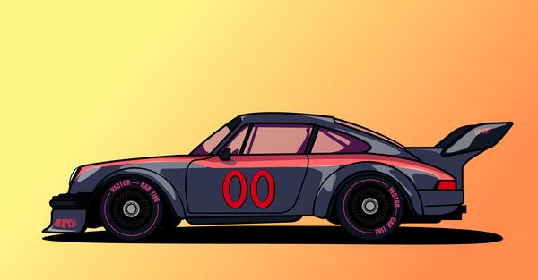 Porshe 934.5 ISMA Арт, Авто, Porsche