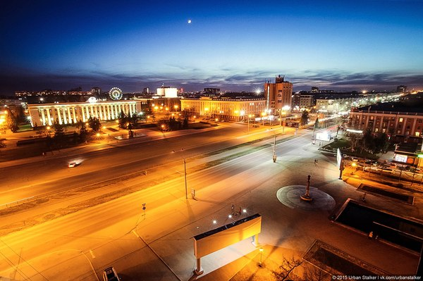Алтайский край, г.Барнаул, ночь Барнаул, ночь, фотография, город, алтайский край, красота, длиннопост