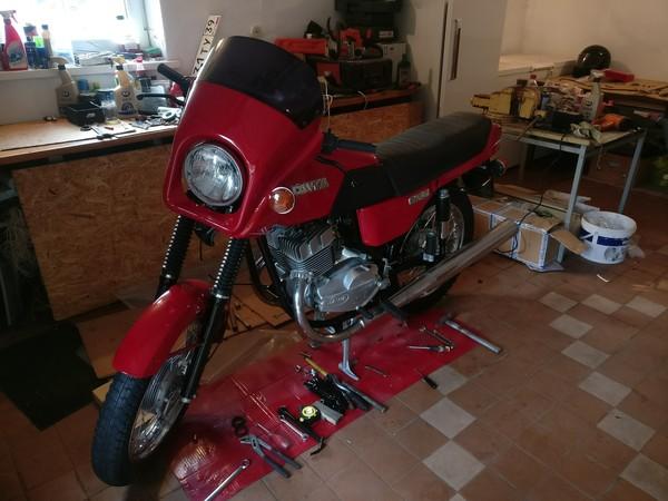 Реставрация Jawa 638 12V Мото, Раритет, Jawa, Реставрация, Длиннопост