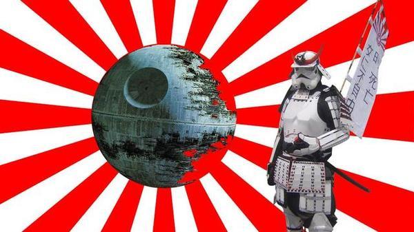 Star wars в японском стиле star wars, Штурмовик, япония, длиннопост
