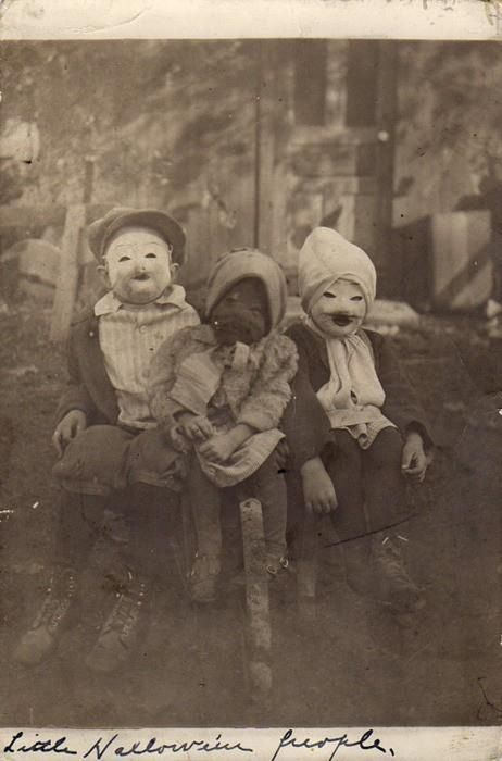 Костюмы на Хэллоуин 19-20 век хэллоуин, костюм, фотография, длиннопост