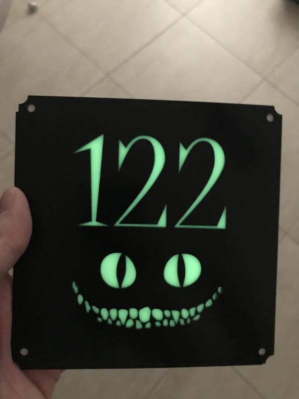 Вот и моя табличка приехала) Дверная табличка, ЧеширКо