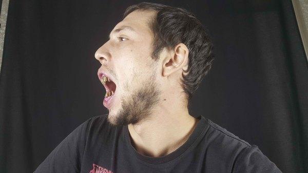 Маленькие хитрости гримерного дела или как делают страшные зубы и челюсти грим, челюсти, спецэффекты, зубы зомби, видео, длиннопост