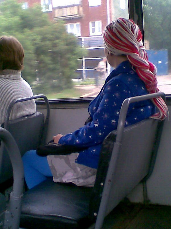 Интересные люди повсюду...Попутчица в троллейбусе