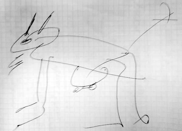 Я не художник, я так вижу Рисунок карандашом, Прикол, Они такие и не поспоришь