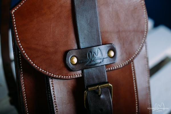 Первый рюкзак из кожи своими ручонками кожа, Кожевенное ремесло, своими руками, ручная работа, рюкзак