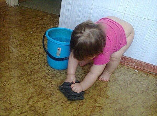 В Удмуртии ребенка заставили мыть пол в туалете детского сада! Дети, детский сад