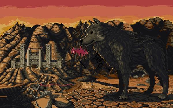 Heroes 3 Stronghold Pixel Art, Герои меча и магии 3, HOMM III, Гифка, Фэнтези, Моё, Coub