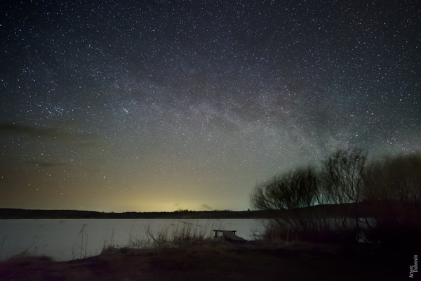 Ночь. Степь. Камера. Мотор. звездное небо, астрофото, ночь, пейзаж, fujifilm, Fujifilm X-T10, фотография, гифка, длиннопост