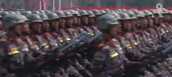 Страшное оружие на параде в Северной Корее