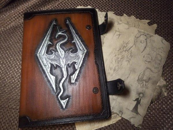 Рецепт папочки для свитков по мотивам TES 5 : Skyrim Игры, skyrim, своими руками, длиннопост
