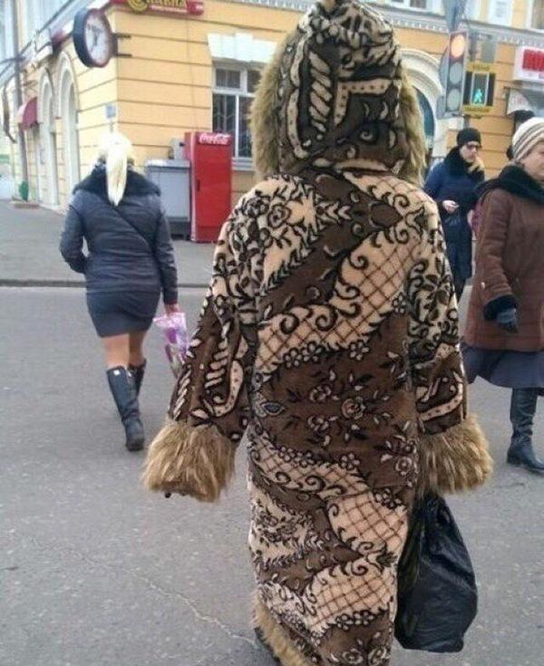 Зато, тёпленько, наверное ))