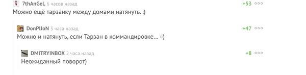 Комментарии Комментарии, Тарзанка, Прикол