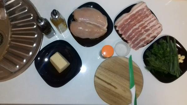 """""""Вкусная вселенная"""" Куриная грудка запеченная в беконе youtube, кулинария, рецепт, духовка, куриная грудка, бекон, в духовке, еда, длиннопост"""