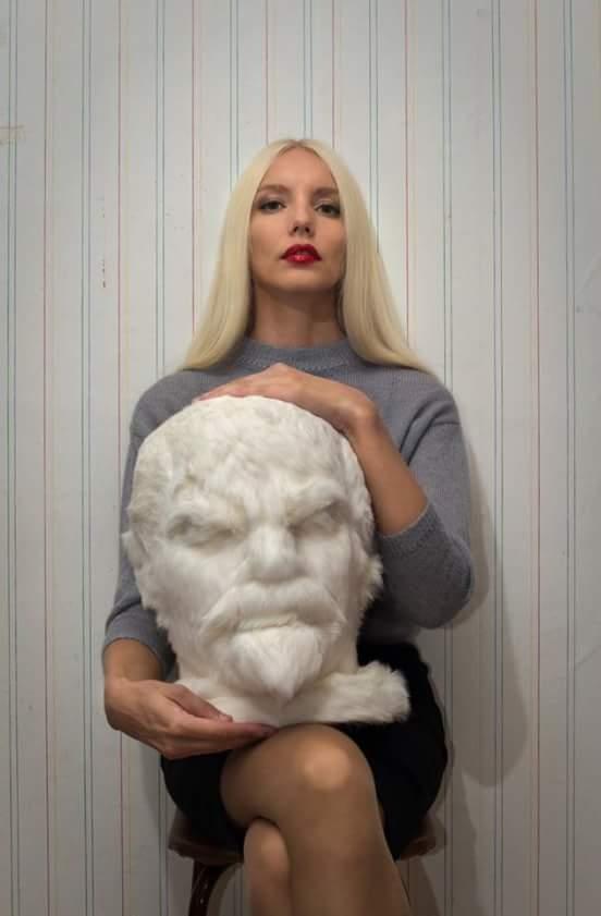 Женщина из Томска сшила мохнатого Ленина. Ленин, Рукоделие