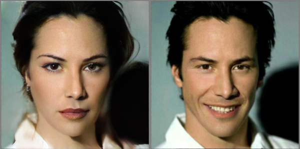 Киану-девушка FaceApp, KeanuReeves, Киану ривз