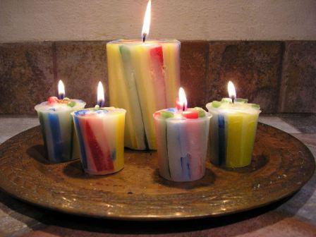 Как сделать восковую свечу в домашних условиях фото 132