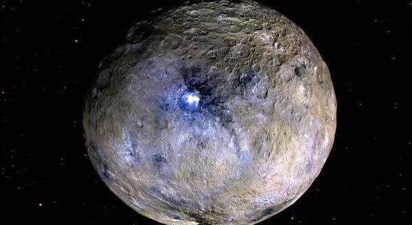 На Церере обнаружены «ледовые реки» dawn, Церера, космос, астрономия