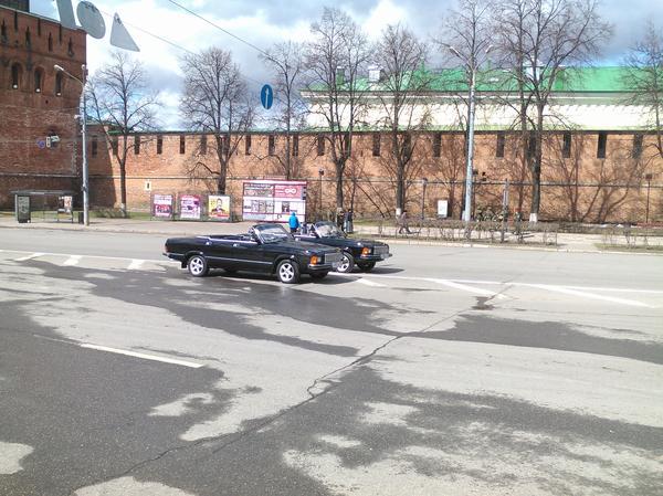 Черная Волга Парад победы, Нижний Новгород, Волга