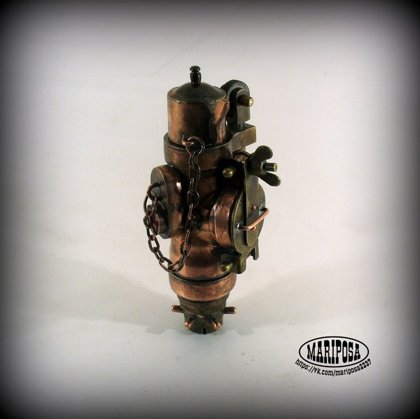 Зажигалка чайного пьяницы Зажигалка, Стимпанк зажигалка, Зажигалка ретро, Хобби, Зажигалка самодельная, Длиннопост