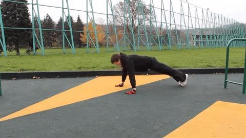 Отжимашки спорт, физкультура, воркаут, тело, Интересное, отжимания, длиннопост, гифка