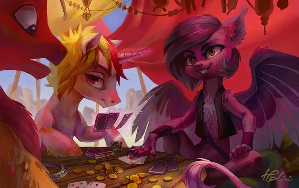 За карточным столом my little pony, Original Character