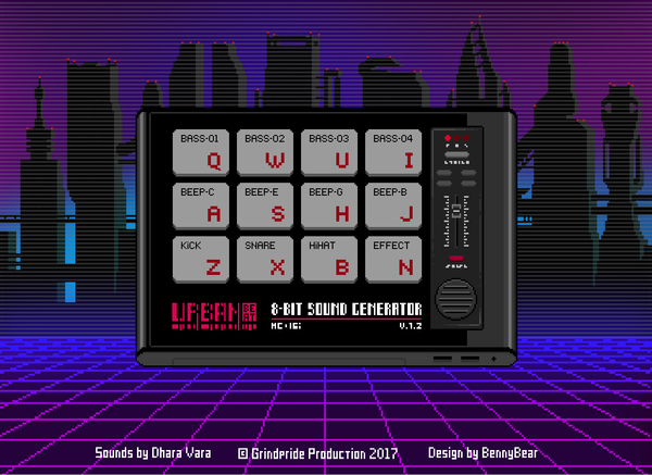 UrbanBeat - 8bit драм-машина Драм машина, Pixel art, Музыка, JavaScript, Retrowave, Чиптюн, Первый пост
