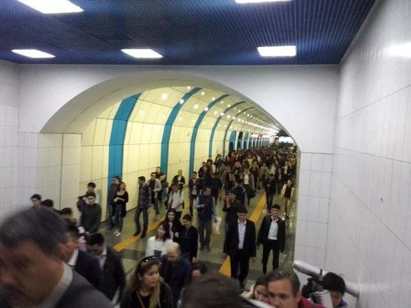 Поиск бомбы в метрополитене Алматы завершен Алматы, Казахстан, бомба, метро, ложный вызов, длиннопост