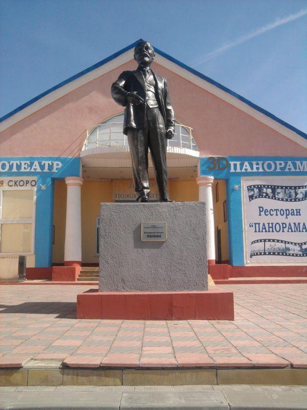 Памятник Ленину после реставрации превратился в головастика памятник ленину, реставрация, Криворукость, длиннопост