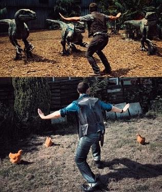 """Ученные """"случайно"""" вырастили курицу с лицом динозавра Динозавры, Курица, Ученые шутят, BBC Earth, Длиннопост, Наука"""