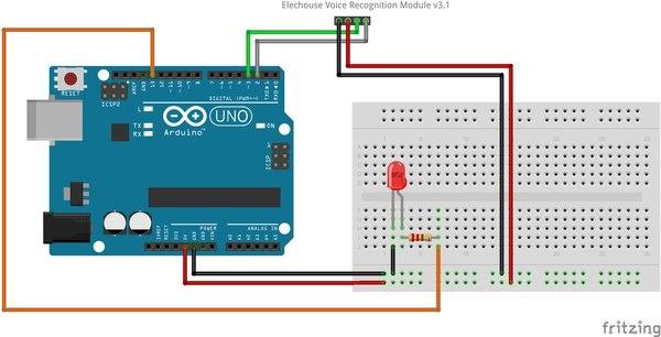 Управление голосовыми командами на Arduino длиннопост, arduino, радиоэлектроника, микроконтроллеры, электроника, голос, управление