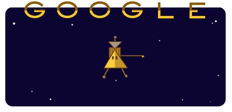 Заставка в гугле про космос
