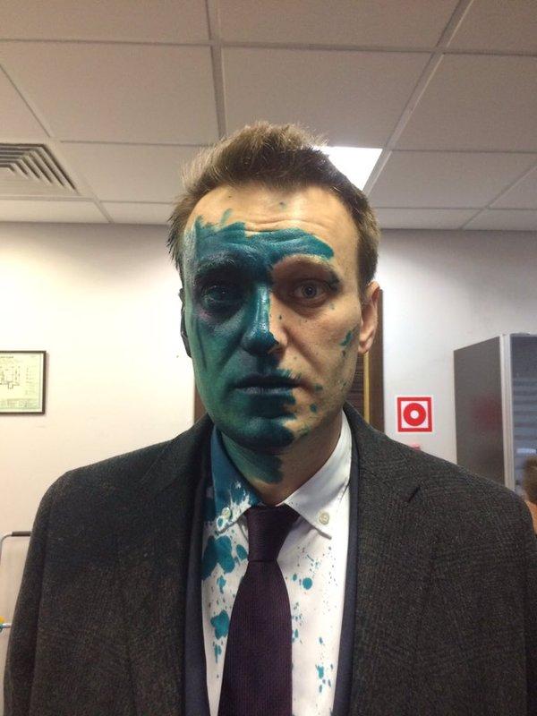 """""""Никогда такого не было, и вот опять""""(с) Политика, Алексей Навальный, зеленка"""