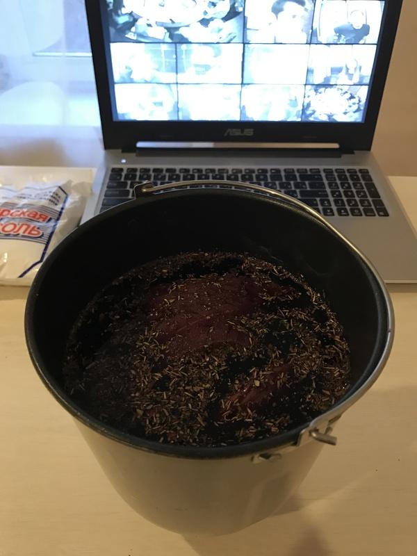 Моя Брезаола дозрела Брезаола, Мясо, Готовим дома, Длиннопост, Рецепт