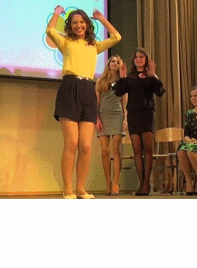 Танец маленьких утят Танец, девушки, милота, гифка