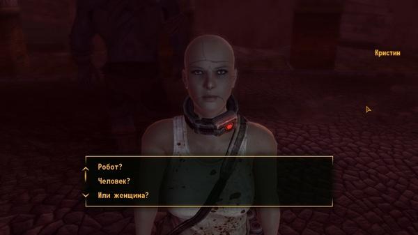 Разработчики шутят (?) Fallout: New Vegas, Dead Money, Женщина, Человек, Юмор