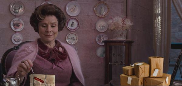Амбридж вскрывает чужие посылки почта, Посылка, долорес амбридж, Гарри Поттер, Photoshop