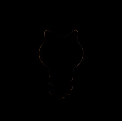 Котоламповая котолампа для котоламповых постов лазерная резка, дерево, рукоделие без процесса, своими руками, кот с лампой, ночник, гифка, кот