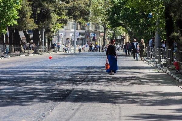 Сюрприз для жителей к 1 мая. Новороссийск, 1 мая, ремонт дорог, длиннопост
