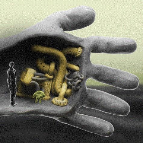 Протеиновый Мотель - первое знакомство Протеиновый Мотель, Игры, Инди, indie, гифка, пластилиновая анимация, сюрреализм, разработка