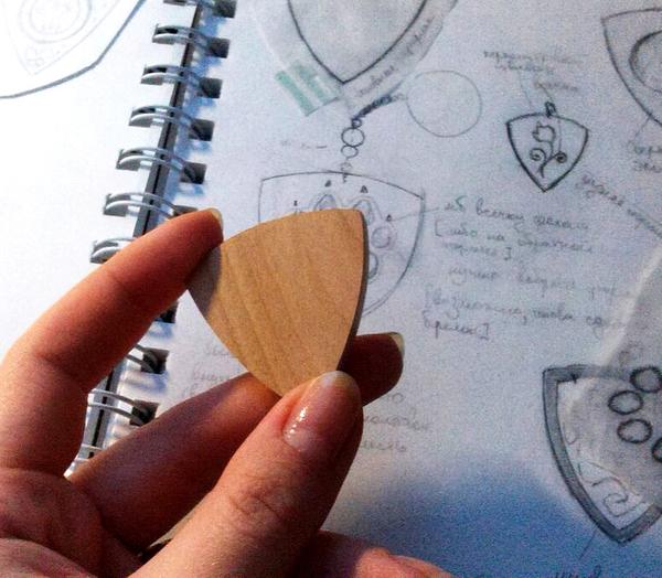 Брелок ручной работы (2) ручная работа, брелок, своими руками, handmade, дерево, изготовление, длиннопост