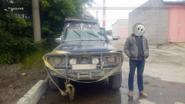 Не последнее внедорожное сафари кузовной ремонт, 4х4, autobotanik, автоботаник, ниссан сафари, перевертыш, off-road, покатушки, длиннопост
