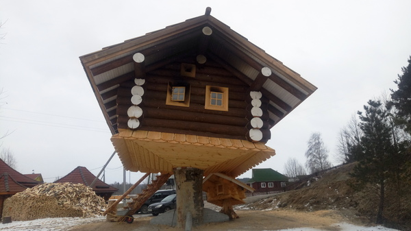 Банный пост постройки, дерево, природа, баня, длиннопост