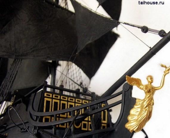 Черная Жемчужина, варианты окраски, сборка Черной Жемчужины Черная Жемчужина, Варианты окраски, Модели парусников, Модели из дерева, Сборка Черной Жемчужины, Длиннопост