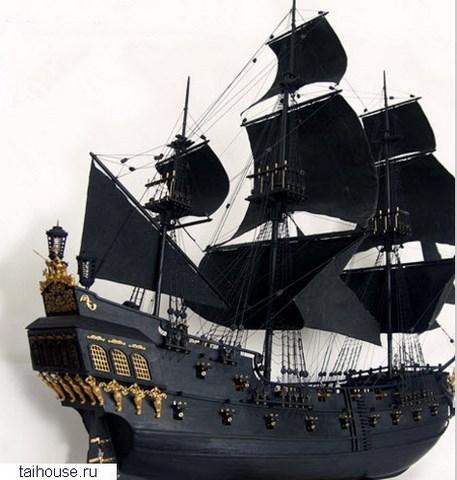 фото черная жемчужина корабль