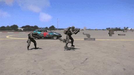 Квадрокоптеры на службе Армы 3