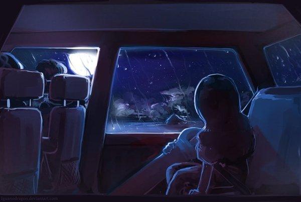 Вдали от звёзд.