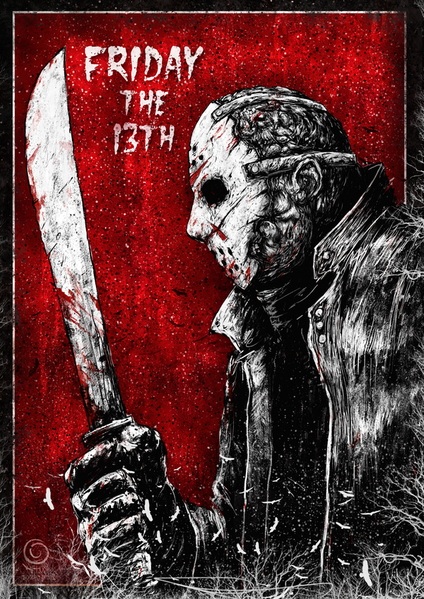 Моя прошлогодняя хеллоуинская серия (часть 1) хэллоуин, Freddy Kruegger, Jason Voorhees, Pennywise, texas chainsaw massacre, Michael Myers, длиннопост