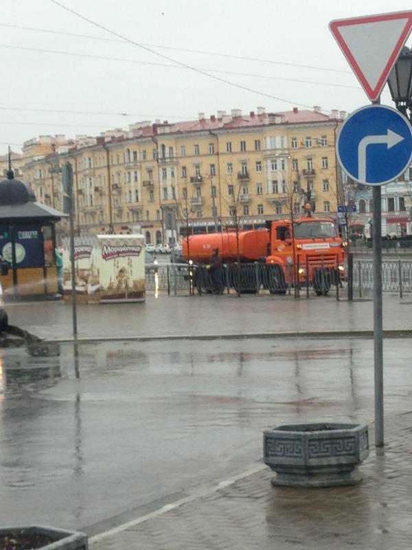 Больше луж богу луж Казань, Дождь, Лужа